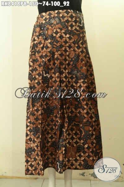 Model Bawahan Batik Untuk Wanita Muda Dan Dewasa, Rok Batik Model Klok Dengan Karet Belakang Lebih Nyaman Di Pakai, Hadir Dengan Motif Trendy Proses Printing Cabut Hanya 150K [RK8418PB-All Size]