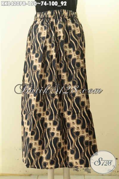 Rok Batik Motif Klasik Model Klok, Batik Bawahan Untuk Wanita Tampil Gaya Dan Keren Bahan Halus Di Lengkapi Karet Belakang Harga 150 Ribu